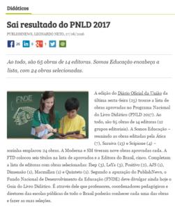 PNLD resultado